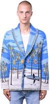 Alanui Venice Beach Wool Blend Knit Cardigan