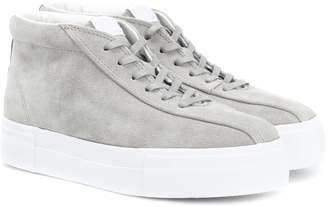 Eytys Mother suede high-top sneakers