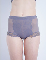 Wacoal Vision stretch-lace control briefs