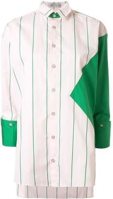 Palmer Harding Geometric Striped Shirt