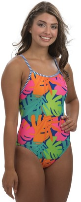 Dolfin Uglies Tropic Time Double-Strap Back One-Piece Swimsui