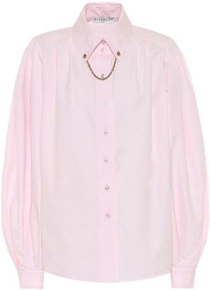 Givenchy Embellished cotton shirt