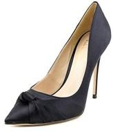 Nicole Miller Jeffrey Women Pointed Toe Canvas Heels.