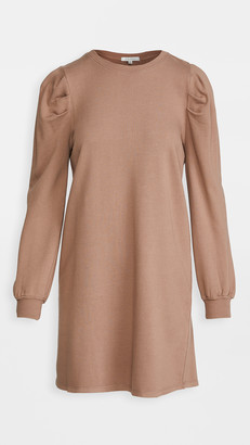 Z Supply Puff Sleeve Sweatshirt Dress