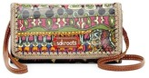 Sakroots Artist Circle Tech Wallet Crossbody