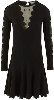 Alexander McQueen Dress with sheer details