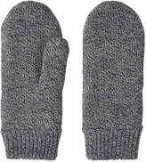 Joe Fresh Women's Knit Mittens, Black (Size O/S)