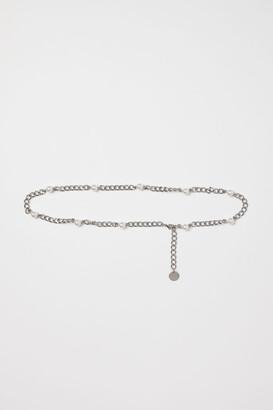 H&M Metal Waist Belt - Silver