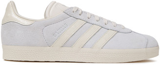 adidas Leather-trimmed Suede Sneakers