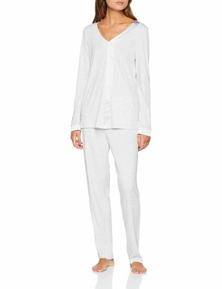 Hanro Women's Elara Long Sleeve Pajama Set