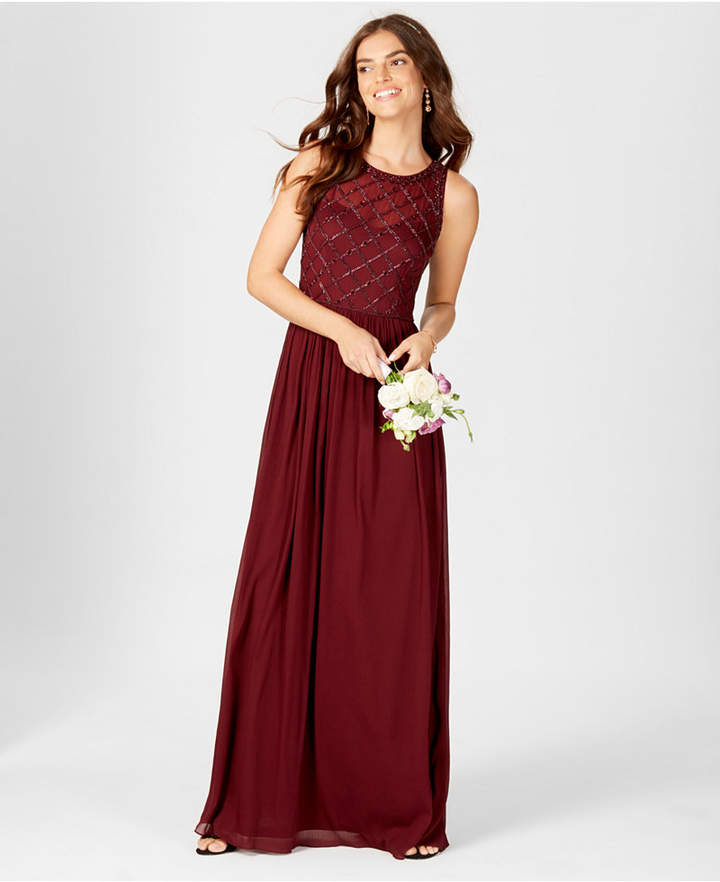 d747288c2a19 Adrianna Papell Red Long Dresses - ShopStyle