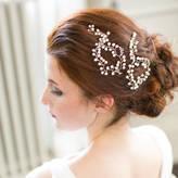 Victoria Millesime Baby's Breath Pearl Wedding Hair Vine Pins