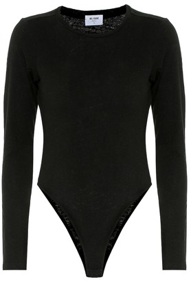 RE/DONE 60s Cotton-Jersey Bodysuit
