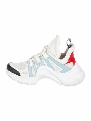 Louis Vuitton Archlight Leather Sneakers White