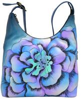 Anna by Anuschka Hand-Painted Leather Large Hobo