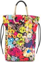 Ports 1961 floral print rope handle tote bag