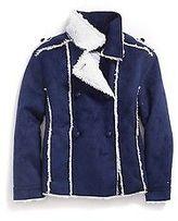 Tommy Hilfiger Little Girl's Fleece Epaulette Jacket