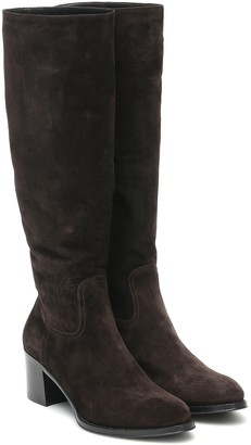 Church's Evelyn 55 suede knee-high boots