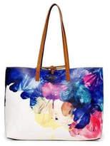Desigual Floral Reversible Handbag