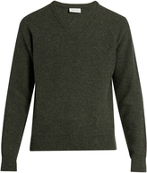 Lemaire V-neck wool sweater