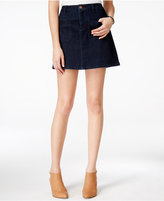 Maison Jules A-Line Denim Mini Skirt, Only at Macy's