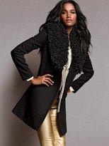 Victoria's Secret Wool Faux-fur Coat