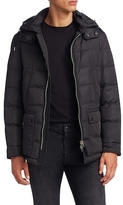 Tom Ford Quilted Hooded Coat