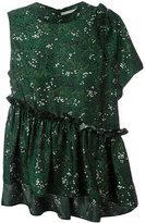 Marco De Vincenzo printed asymmetric blouse - women - Silk - 40