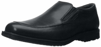 Rockport Men's Essential Details Waterproof Slip On Black 5 M (D)