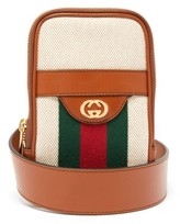 Gucci - Gg Vintage Canvas Belted Iphone Case - Mens - Cream Multi