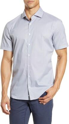 Brax Kelly Modern Fit Short Sleeve Button-Up Shirt