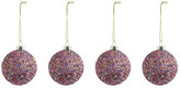 K Levering Klevering Glitter Disco Balls - Set of 4