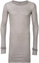 Rick Owens long length T-shirt - men - Cotton - S