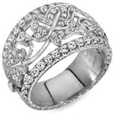 Jack Kelége Diamond Leaf Ring