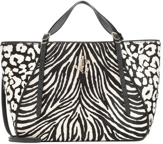 Jimmy Choo Varenne Large printed calf-hair tote