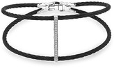 Alor Pavé Diamond Black Cable Bangle