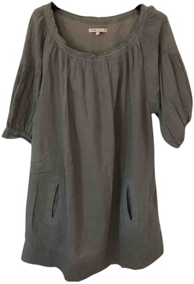 Maje Grey Cotton Dresses