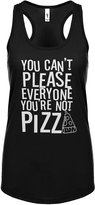 Indica Plateau Womens You Can't Please Everyone You're Not Pizza Racerback Tank Top