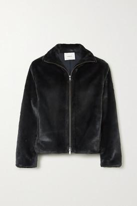 Vince Faux Fur Jacket - Black