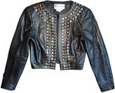 Leonard Black Leather Jacket for Women Vintage
