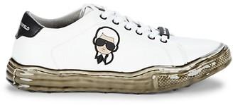 Karl Lagerfeld Paris Head Dipped Sole Sneakers