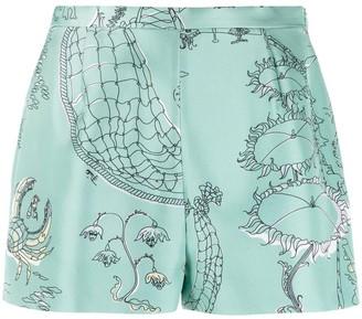 Emilio Pucci La Canzone del Mare-print shorts