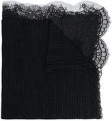 Ermanno Scervino lace trim scarf