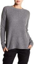Vince Crew Neck Long Sleeve Wool Blend Sweater