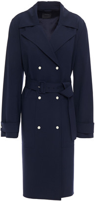 Theory Wool-blend Trench Coat