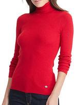 Lauren Ralph Lauren Petite Ribbed Turtleneck Sweater