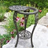 Rochester Metal Side Table Oakland Living Color: Antique Bronze