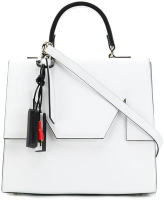 MSGM M foldover top shoulder bag