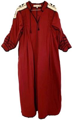 Carolina K. Red Cotton Dress for Women