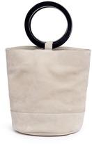 Simon Miller 'Bonsai 30cm' oversized nubuck leather bucket bag